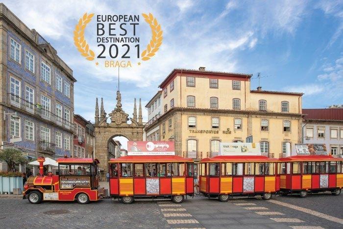 Imagem da notícia: - Braga é o melhor destino europeu 2021