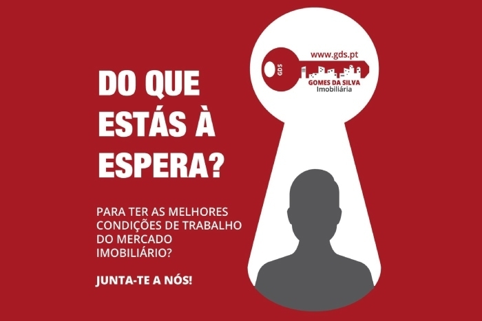 Imagem da notícia: - A Imobiliária Gomes da Silva está a recrutar