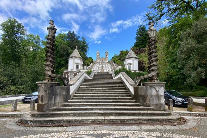 Imagem da notícia: - Santuário do Bom Jesus vence Prémio Cinco Estrelas Regiões