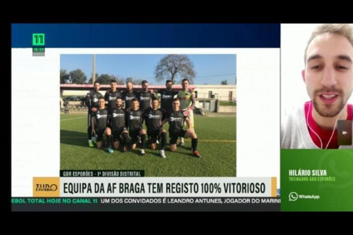 Imagem da notícia: - GD Esporões em destaque no Canal 11